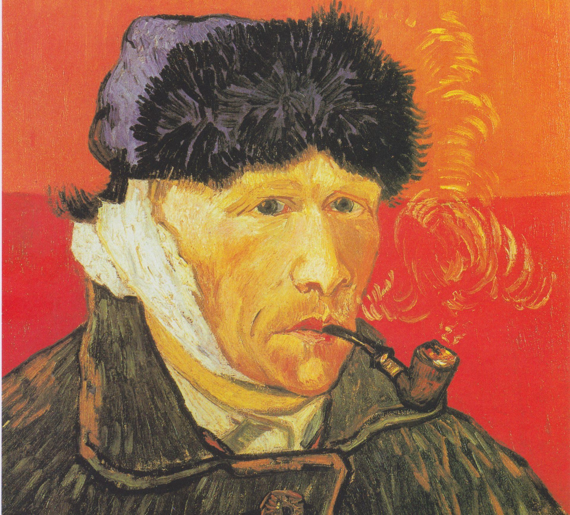 Vincent van Gogh, Selbstbildnis mit verbundenem Ohr